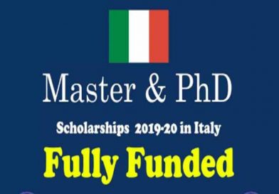 Scholarships For African students – Italy Government Scholarship 2019-2020
