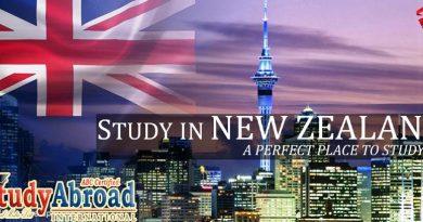 study in new zeeland