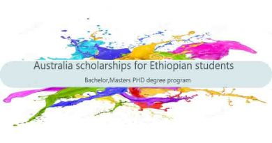 australia scholarships for Ethiopian students