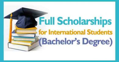 bachelor degree full scholarship